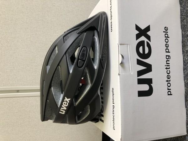 Uvex i-vo cc schwarz matt 52-57cm