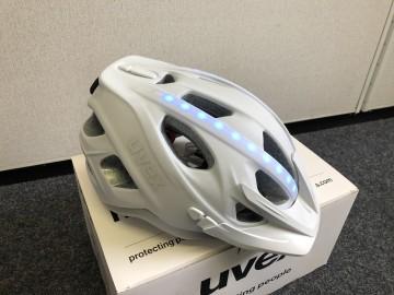 Uvex city light weiß matt 52-57cm